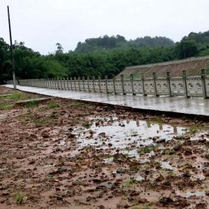 江安底蓬河道栏板